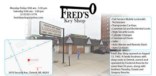 Fred's Key Shop