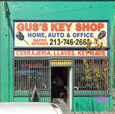 GUS LOCK & KEY SERVICE